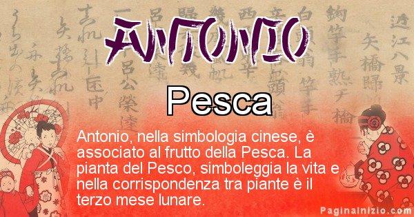 Antonio - Significato del nome in Cinese Antonio