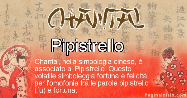 Chantal - Significato del nome in Cinese Chantal