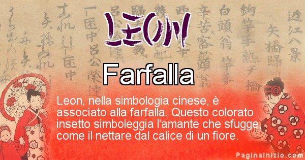 Leon - Significato del nome in Cinese Leon