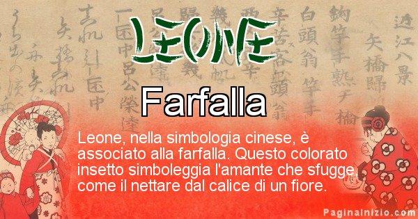 Leone - Significato del nome in Cinese Leone