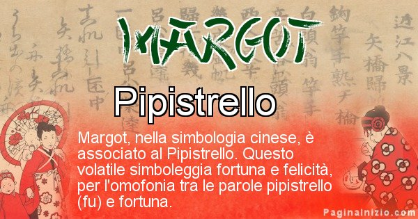 Margot - Significato del nome in Cinese Margot