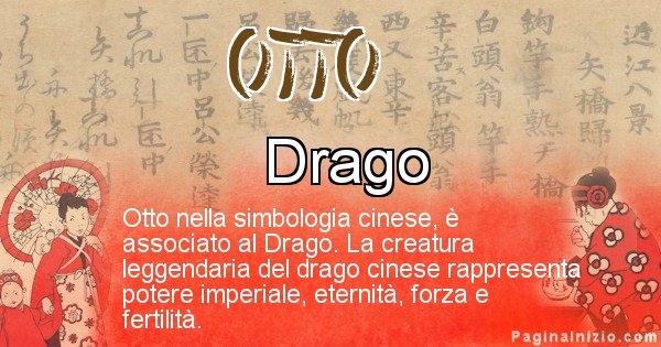 Otto - Significato del nome in Cinese Otto