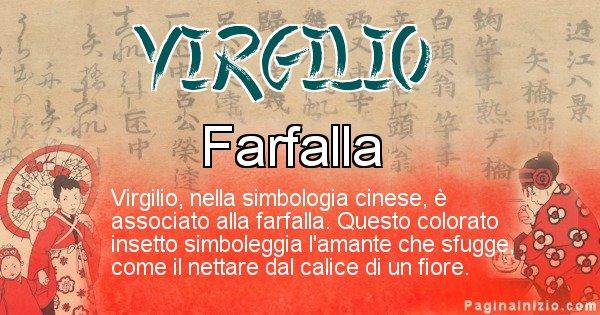 Virgilio - Significato del nome in Cinese Virgilio