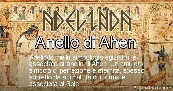 Adelinda - Significato in egiziano del nome Adelinda