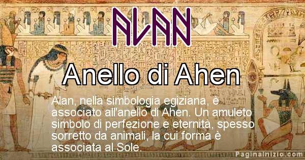 Alan - Significato in egiziano del nome Alan