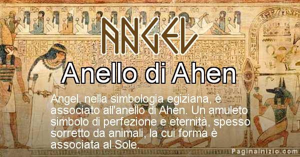 Angel - Significato in egiziano del nome Angel