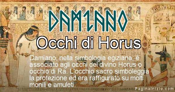 Damiano - Significato in egiziano del nome Damiano