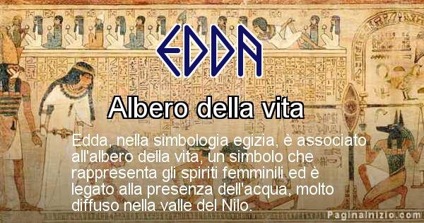 Edda - Significato in egiziano del nome Edda