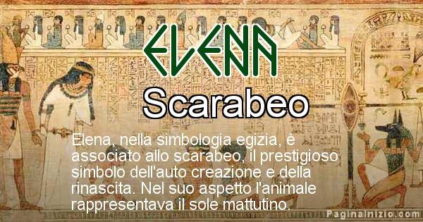 Elena - Significato in egiziano del nome Elena