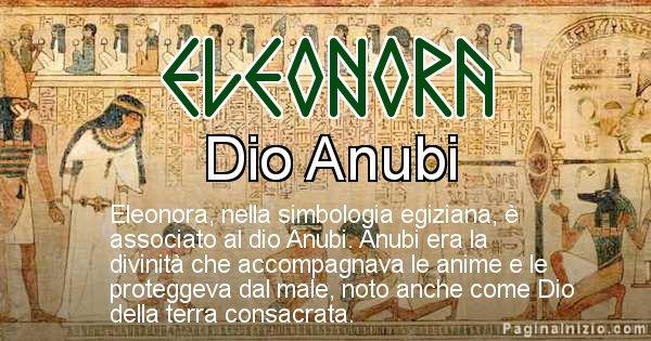 Eleonora - Significato in egiziano del nome Eleonora