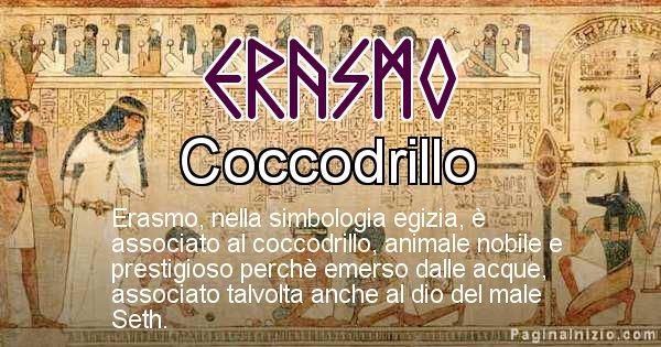 Erasmo - Significato in egiziano del nome Erasmo