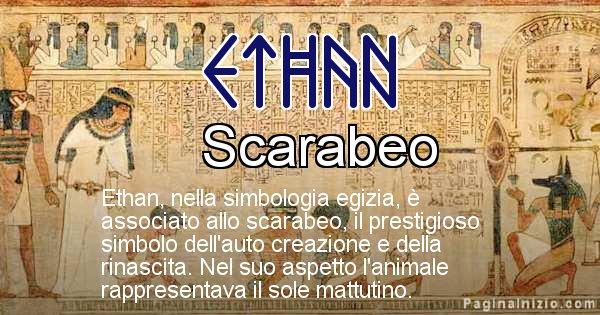 Ethan - Significato in egiziano del nome Ethan