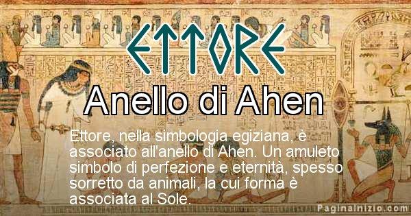 Ettore - Significato in egiziano del nome Ettore