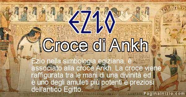 Ezio - Significato in egiziano del nome Ezio