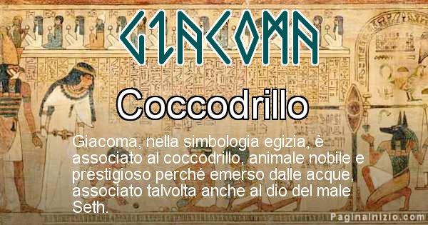 Giacoma - Significato in egiziano del nome Giacoma