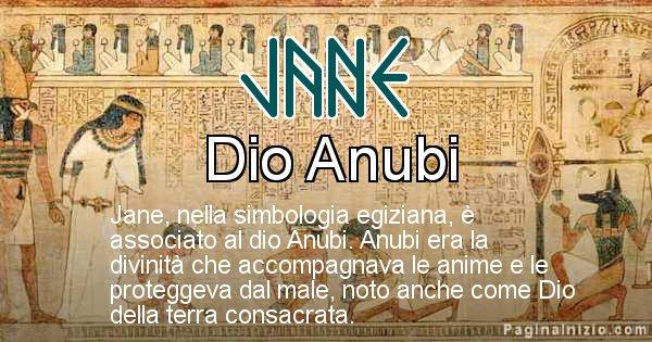 Jane - Significato in egiziano del nome Jane