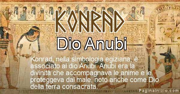 Konrad - Significato in egiziano del nome Konrad
