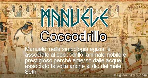 Manuele - Significato in egiziano del nome Manuele