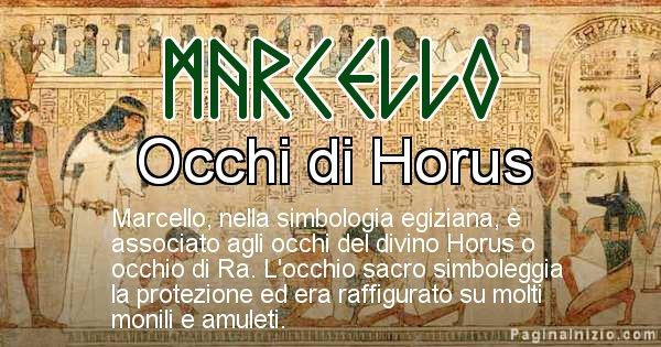 Marcello - Significato in egiziano del nome Marcello