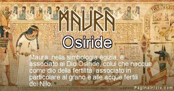 Maura - Significato in egiziano del nome Maura