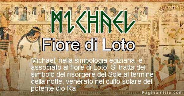 Michael - Significato in egiziano del nome Michael