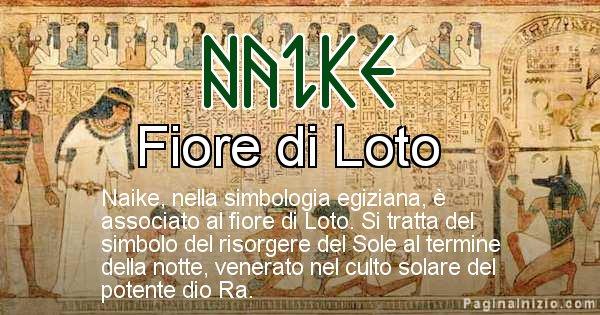 Naike - Significato in egiziano del nome Naike