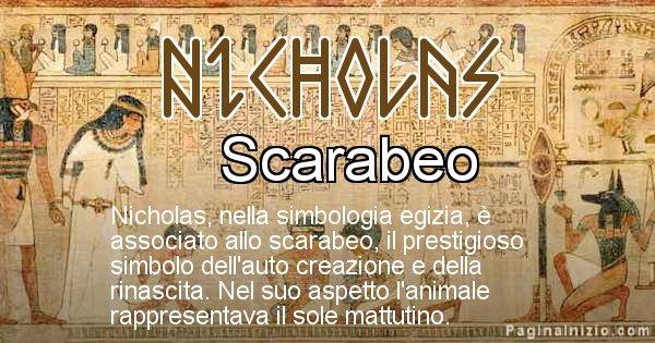 Nicholas - Significato in egiziano del nome Nicholas
