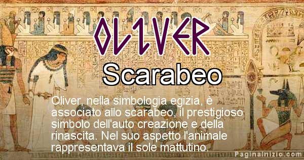 Oliver - Significato in egiziano del nome Oliver