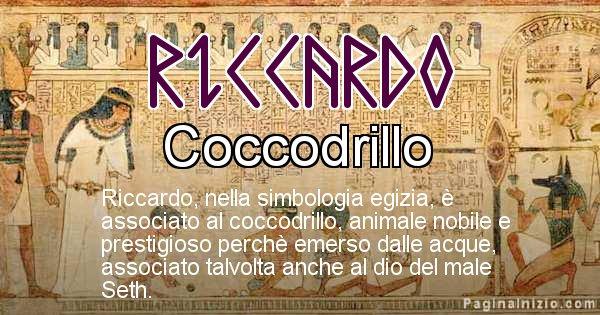 Riccardo - Significato in egiziano del nome Riccardo