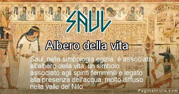 Saul - Significato in egiziano del nome Saul