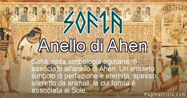Sofia - Significato in egiziano del nome Sofia