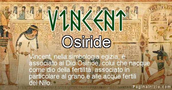 Vincent - Significato in egiziano del nome Vincent