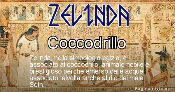 Zelinda - Significato in egiziano del nome Zelinda