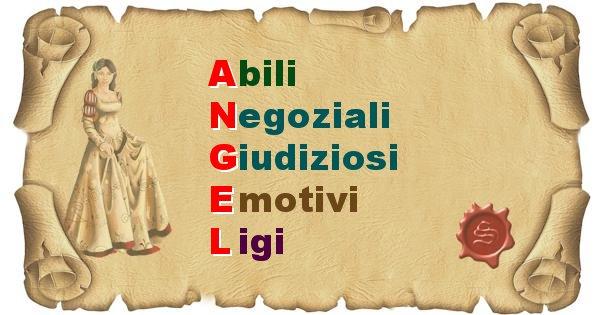 Angel - Significato letterale Cognome Angel
