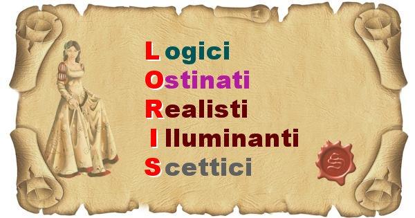 Loris - Significato letterale Cognome Loris