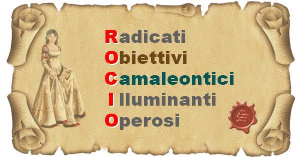 Rocio - Significato letterale Cognome Rocio