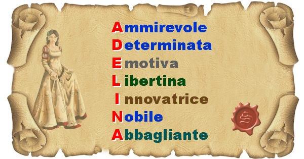 Adelina - Significato letterale del nome Adelina
