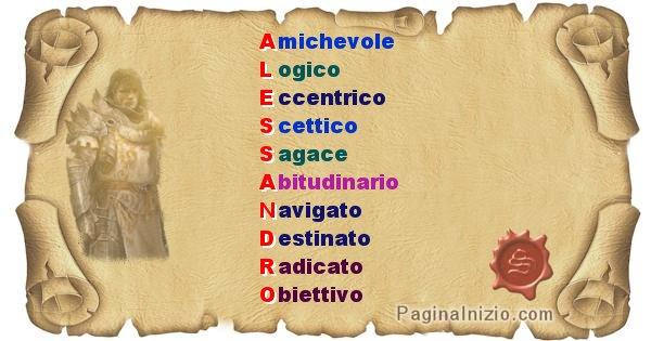 Alessandro - Significato letterale del nome Alessandro