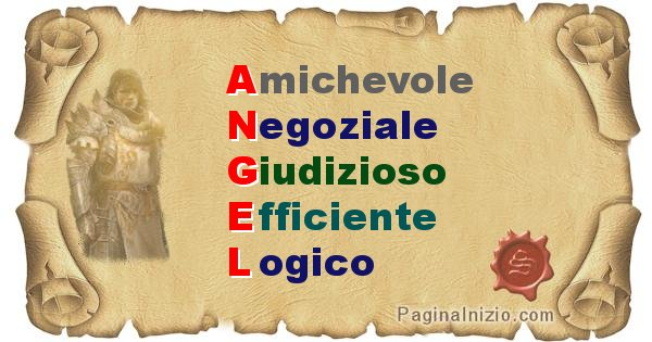 Angel - Significato letterale del nome Angel