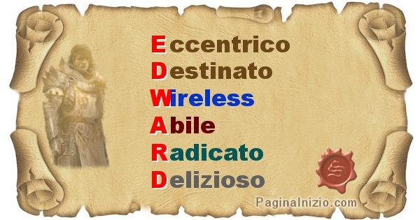 Edward - Significato letterale del nome Edward