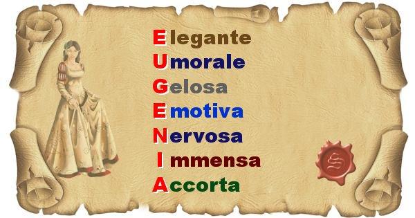 Eugenia - Significato letterale del nome Eugenia