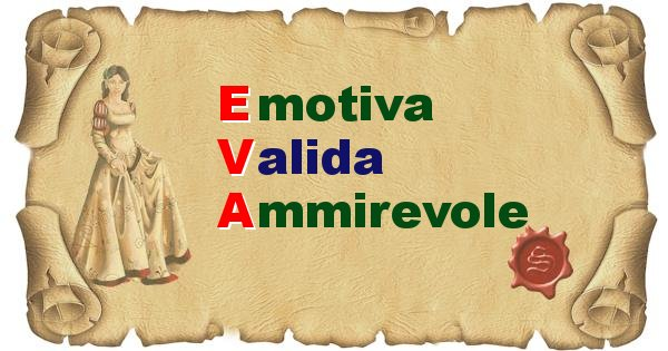 Eva - Significato letterale del nome Eva