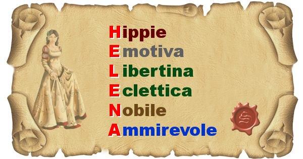 Helena - Significato letterale del nome Helena