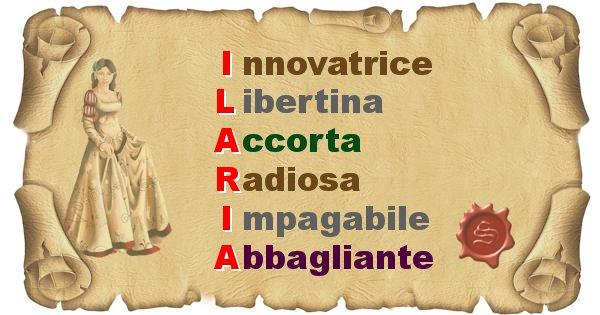 Ilaria - Significato letterale del nome Ilaria