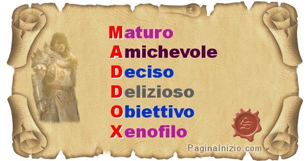 Maddox - Significato letterale del nome Maddox