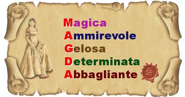 Magda - Significato letterale del nome Magda