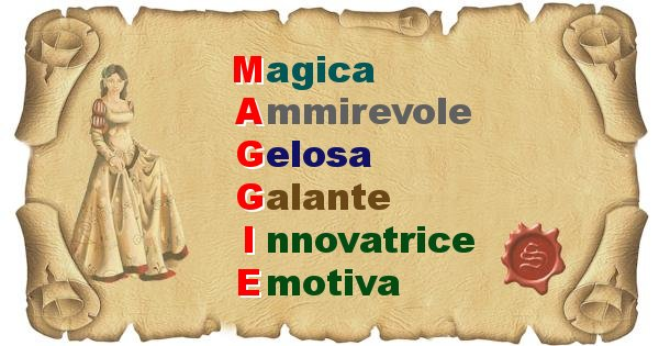 Maggie - Significato letterale del nome Maggie