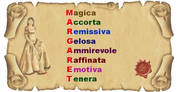 Margaret - Significato letterale del nome Margaret
