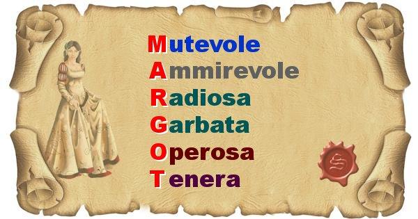 Margot - Significato letterale del nome Margot