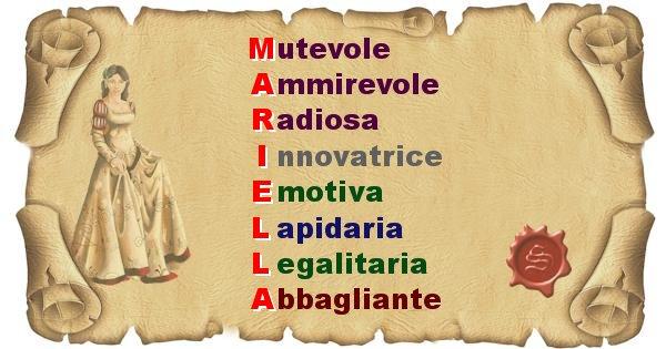 Mariella - Significato letterale del nome Mariella